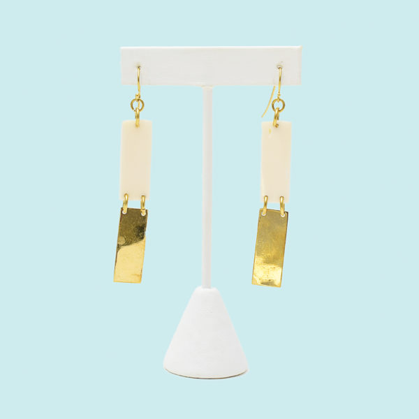 Fair trade earrings ethically handmade by empowered artisans in East Africa for the adventurer in us all.