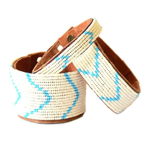 Fair trade bracelet ethically handmade by artisans in East Africa.